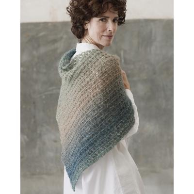 Tutorial de tricotat șal
