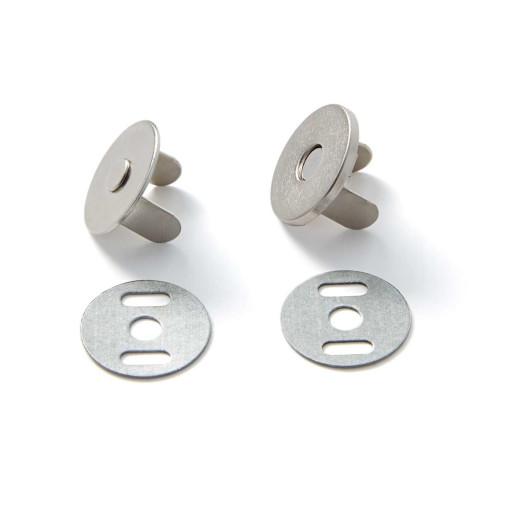 Capse magnetice - argint