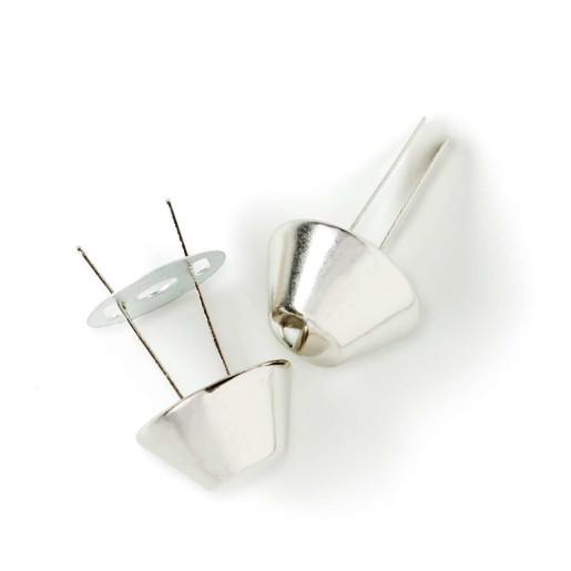 Elemente de protecție pentru genți - argintii