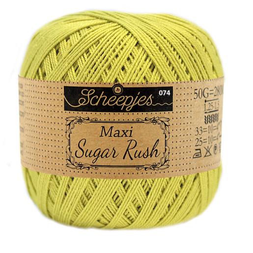Maxi Sugar Rush, Verde fistic