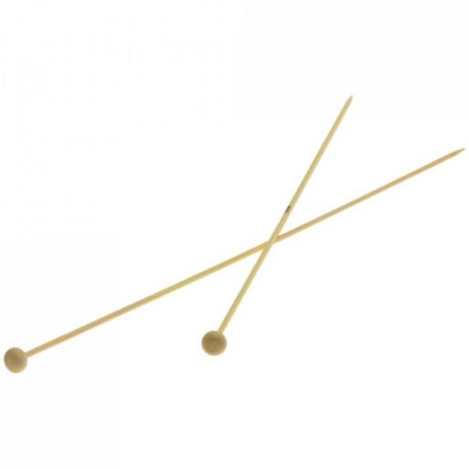 Andrele drepte de bambus Lana Grossa, 3 mm