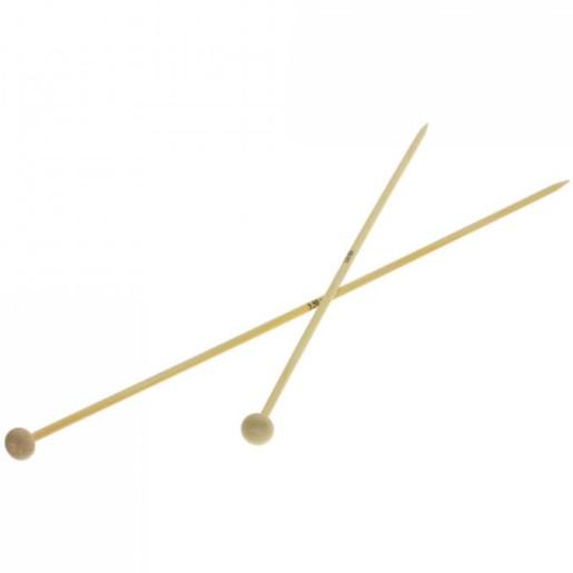 Andrele drepte de bambus Lana Grossa, 3.5 mm