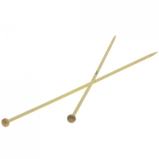 Andrele drepte de bambus Lana Grossa, 4.5 mm