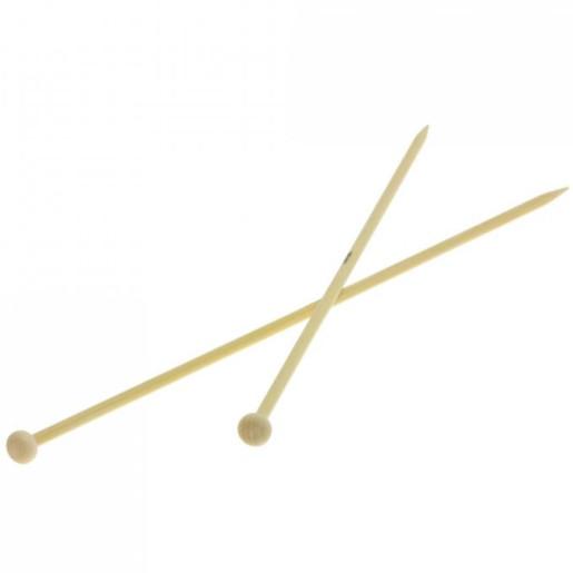 Andrele drepte de bambus Lana Grossa, 5 mm