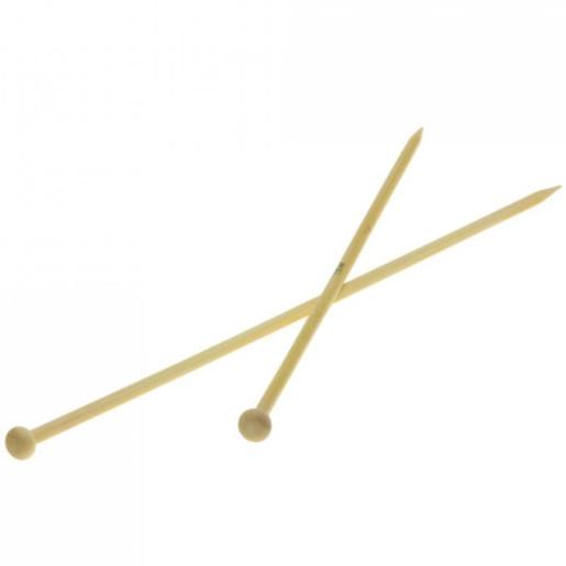 Andrele drepte de bambus Lana Grossa, 5.5 mm