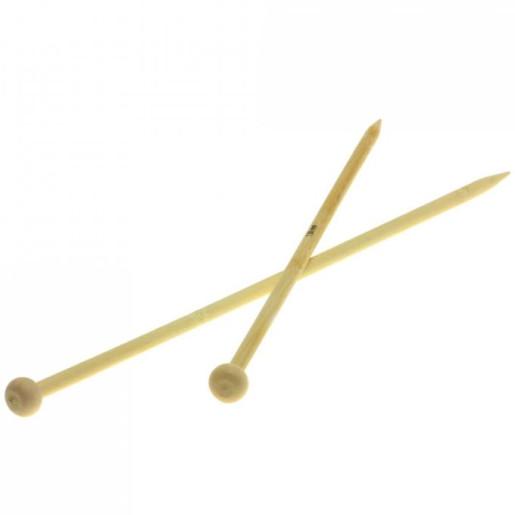 Andrele drepte de bambus Lana Grossa, 7 mm