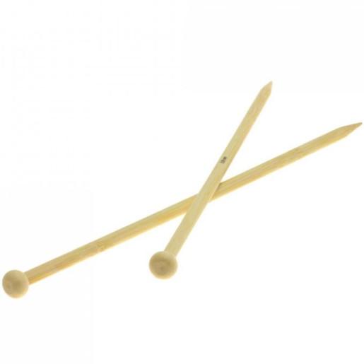 Andrele drepte de bambus Lana Grossa, 8 mm