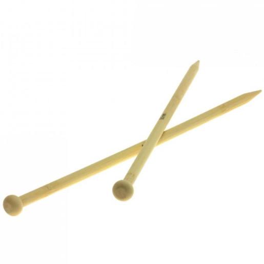 Andrele drepte de bambus Lana Grossa, 9 mm