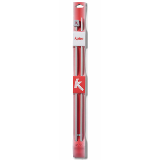 Andrele drepte de aluminiu Katia, 6.5 mm