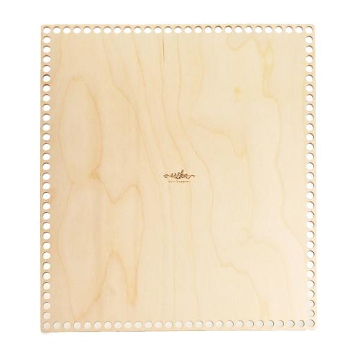 Baze dreptunghiulare de lemn pentru coșuri