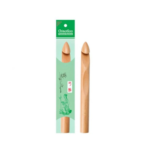 Croșetă de bambus ChiaoGoo, 15.75 mm