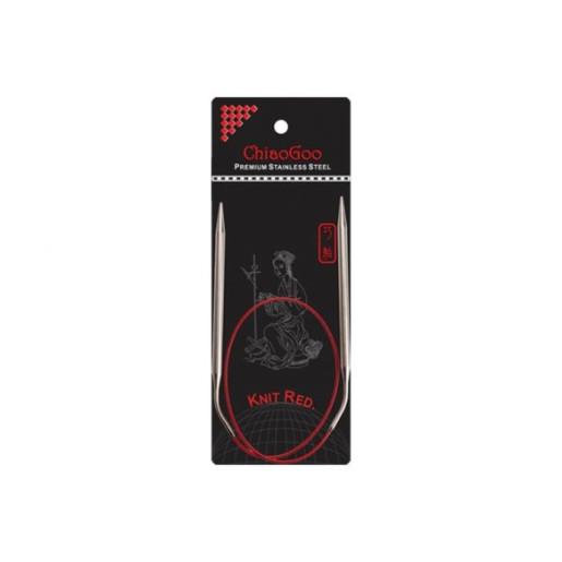 Andrele circulare ergonomice RED ChiaoGoo, 60 cm - 8 mm