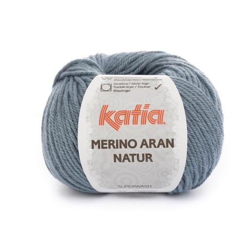 Merino Aran Natur, Bleu grizonat