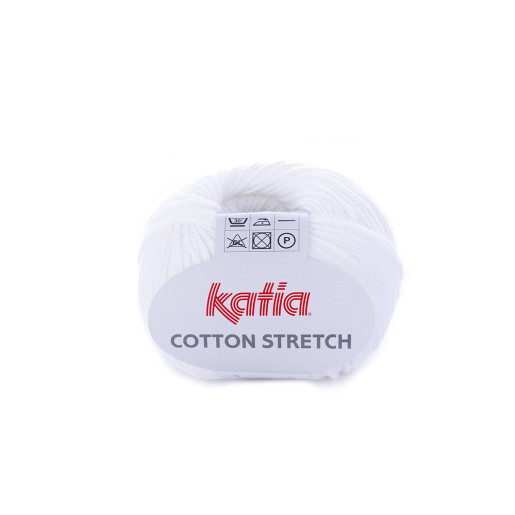 Cotton Stretch, Alb