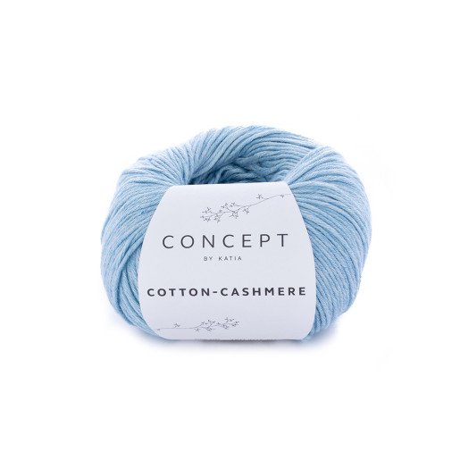 Cotton-Cashmere, Bleu