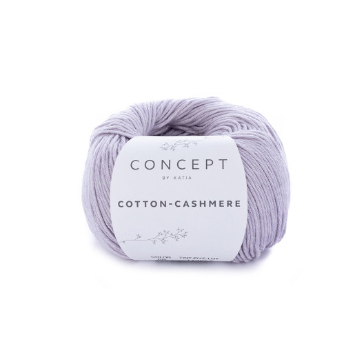 Cotton-Cashmere, Lila