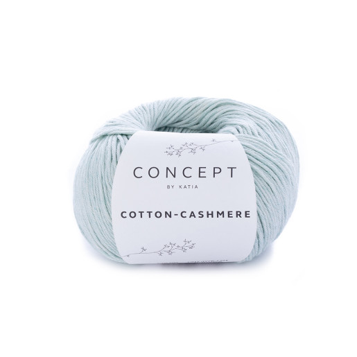 Cotton-Cashmere, Verde mentă pastel