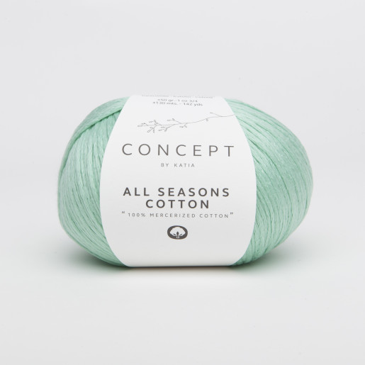 All Seasons Cotton, Verde mentă pastel