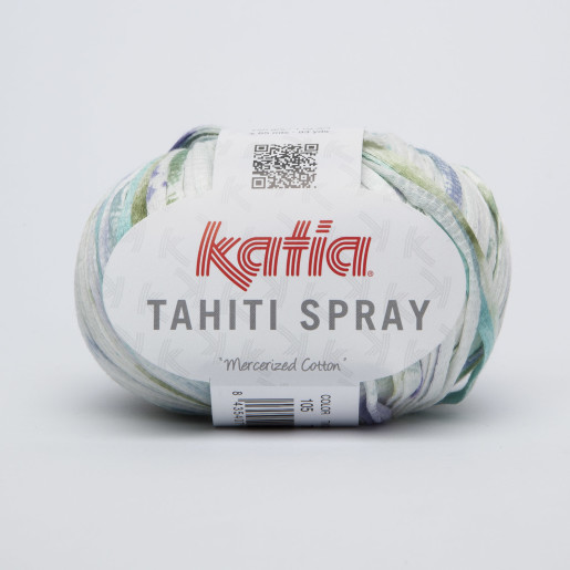 Tahiti Spray/Beach, Alb-Turcoaz-Verde