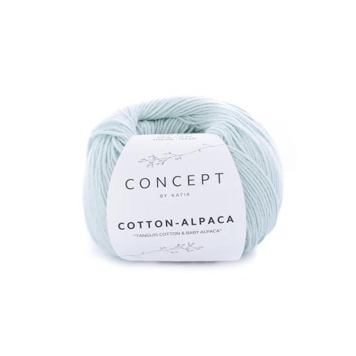 Cotton-Alpaca, Bleu aqua