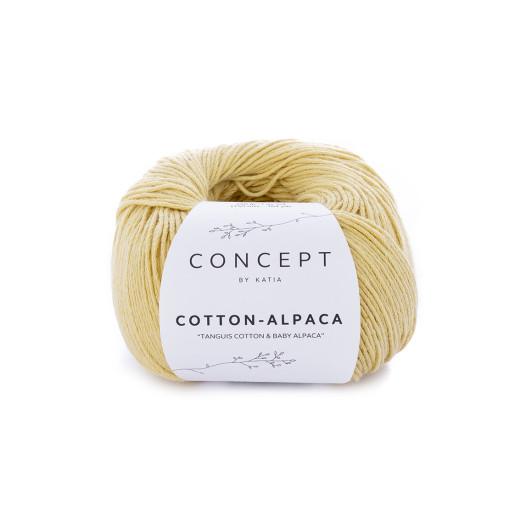 Cotton-Alpaca, Galben deschis