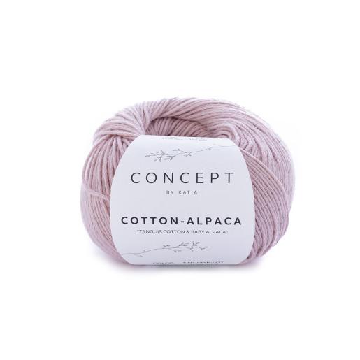 Cotton-Alpaca, Roz deschis