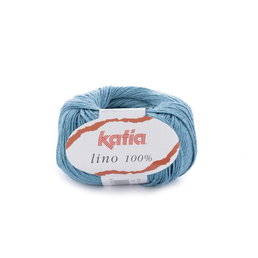 Lino 100%, Bleu