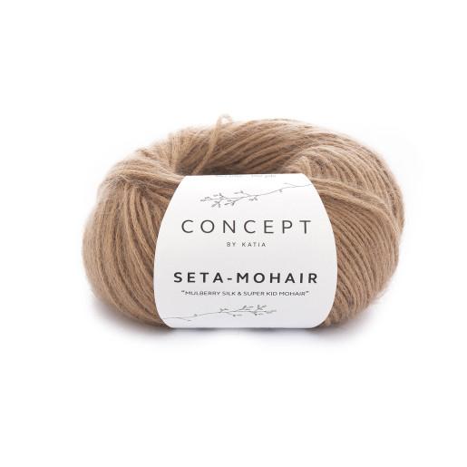 Seta Mohair, Caramel