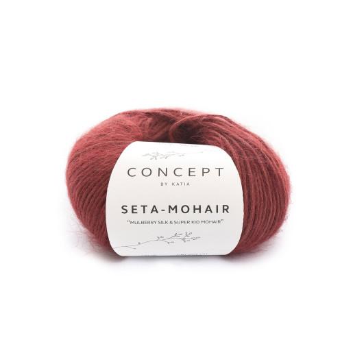Seta Mohair, Roșu maroniu