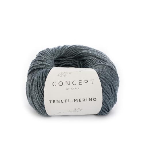 Tencel-Merino, Albastru carbon