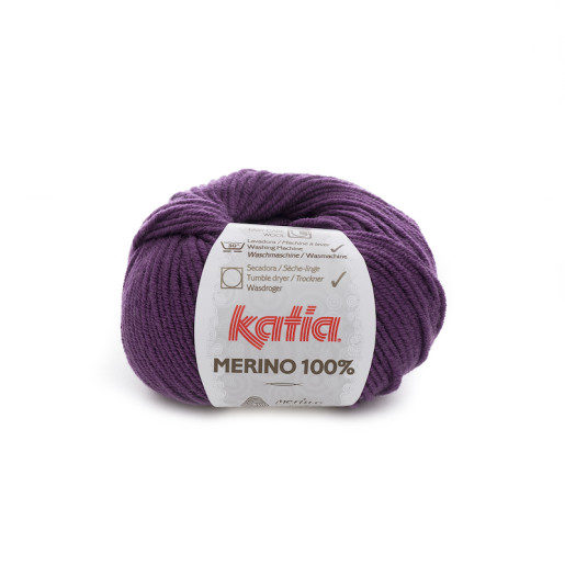 Merino 100%, Violet