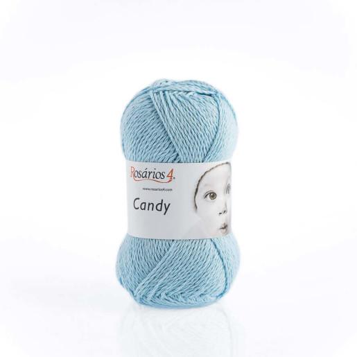 Candy, bumbac cu cașmir - Bleu