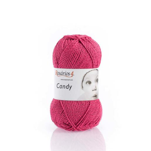 Candy, bumbac cu cașmir - Roz intens