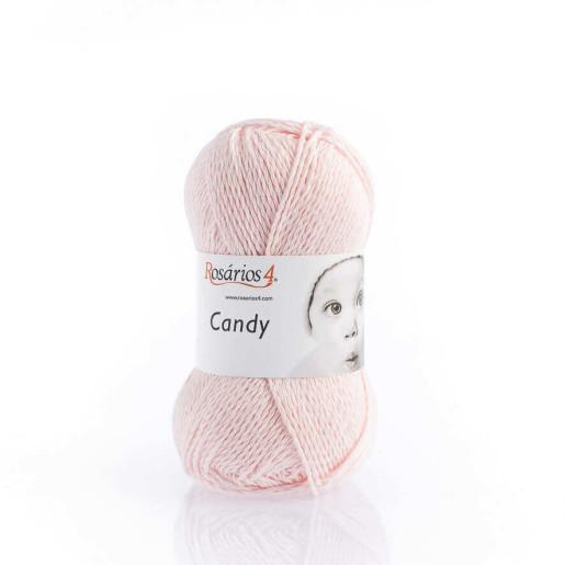 Candy, bumbac cu cașmir - Roz pastel