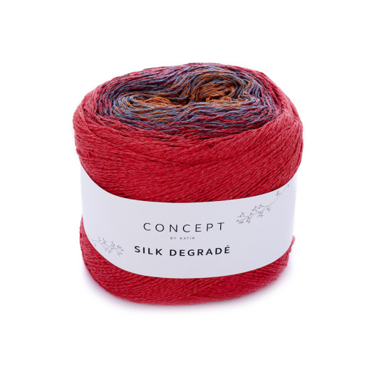Silk Degrade, Roșu-Cărămiziu-Violet