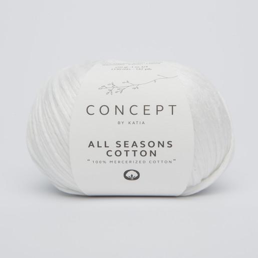All Seasons Cotton, Alb