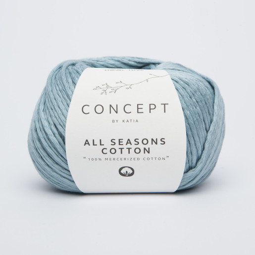 All Seasons Cotton, Bleu