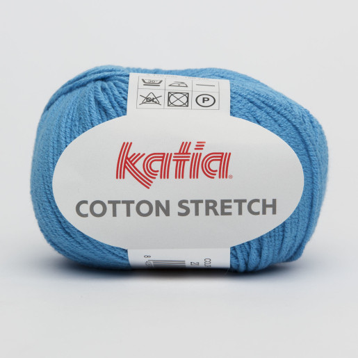 Cotton Stretch, Albastru