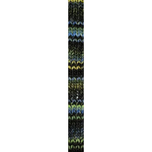 Verde limetă-Turcoaz-Negru