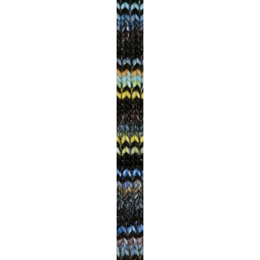 Bleu aqua-Cărămiziu-Verde limetă-Negru