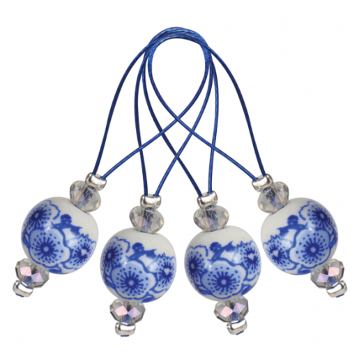Marcatoare de colecție Zooni, model Blooming Blue
