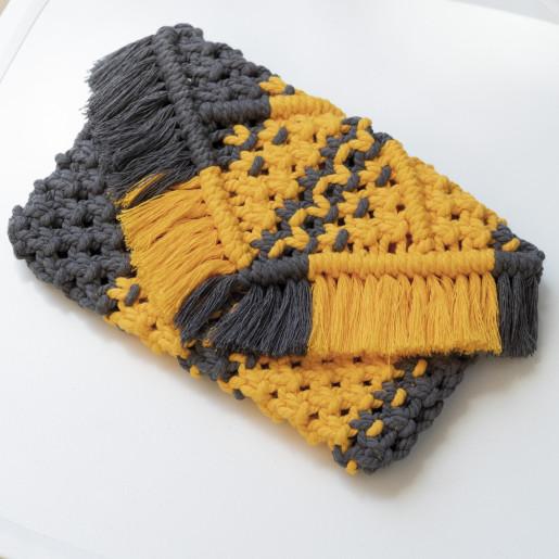 Cabrera - kit de impletit geantă-plic