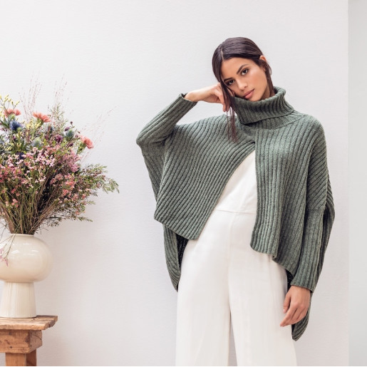 Swoncho tricotat Cashmere 16 Fine