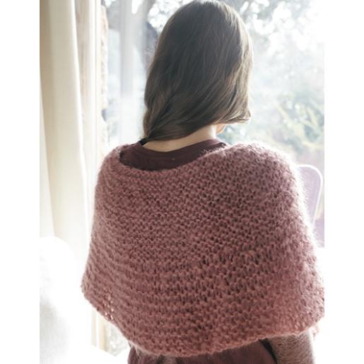 INGENUA - kit de tricotat capă