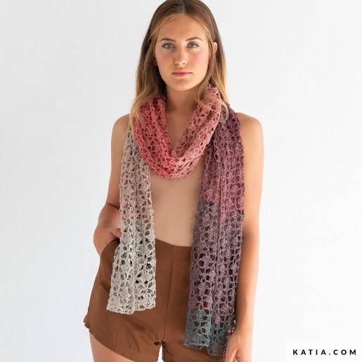Soft Lino, Gri perlat-Roz-Antracit