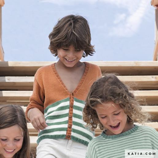 Jachetă copii Tencel-Cotton