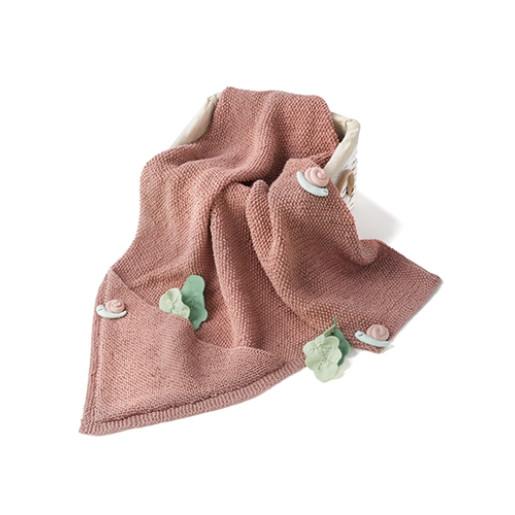 Patura tricotată Cotton-Yak