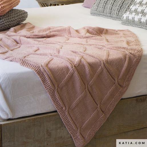 Pătură tricotată Alabama
