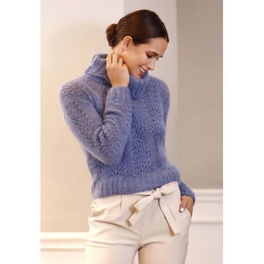 Pulover cu model - Silk Mohair