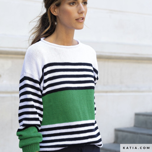 Pulover tricotat Tencel-Cotton
